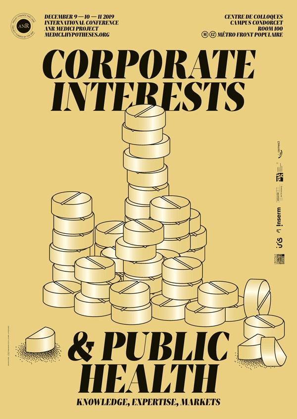 Conférence internationale > Corporate Interests and Public Health. Knowledge, Expertise, Markets – 9-11 décembre 2019