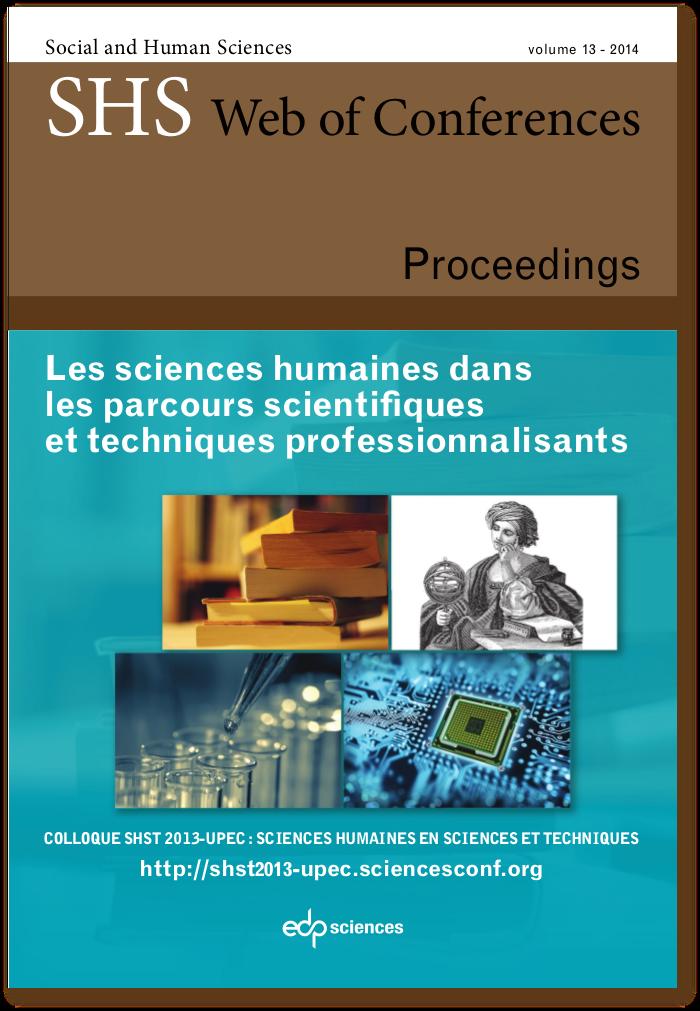 Les sciences humaines dans les parcours scientifiques et techniques professionnalisants