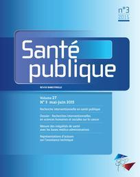 Recherches interventionnelles en sciences humaines et sociales sur le cancer