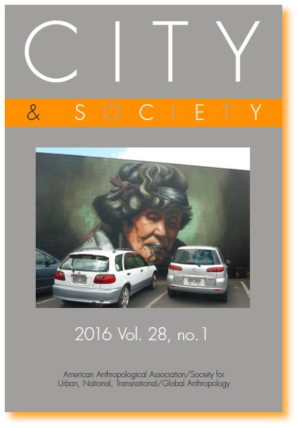 City & Society 2016, vol. 28, n° 1
