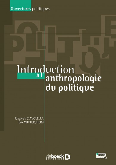 Introduction à l'anthropologie du politique