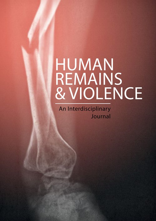 Human Remains and Violence: An Interdisciplinary Journal